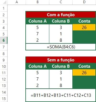 Funções de soma-3